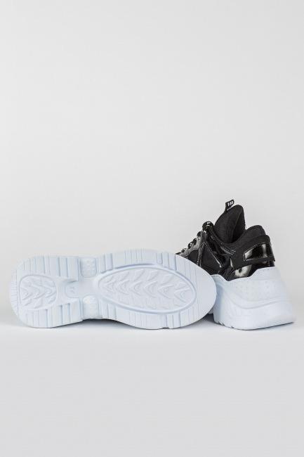 Tommy Life Siyah Kadın Sneaker - Thumbnail